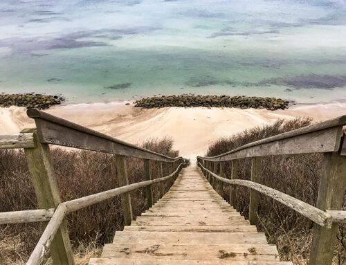 Strandtrappen Melbys Vænge